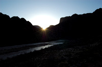 Sunrise on the Colorado River